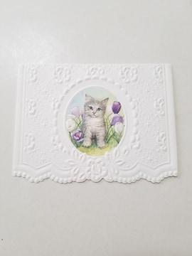 猫のメッセージカード★プレゼントに添えて♪