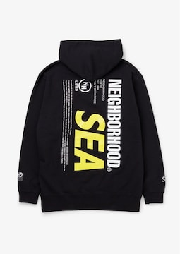 NEIGHBORHOOD × WIND AND SEA パーカー L