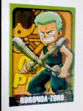 〜ワンピース〜『RORONOA・ZORO』のカード(少年)