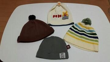☆ベビー帽子4点セット☆