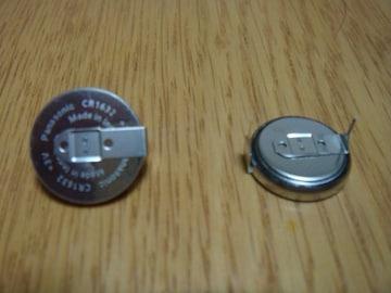 ダイハツトヨタ コペンアトレームーヴ キーレス電池 CR1632
