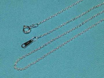 あずきネックレス 40cm スターリングシルバー(Silver925)