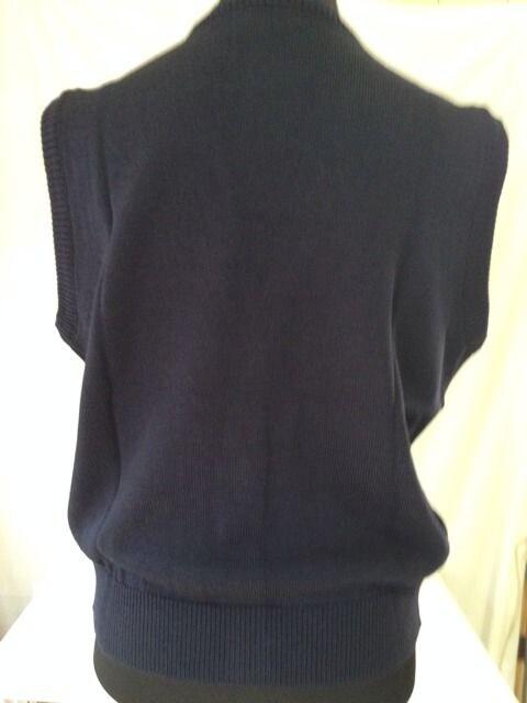 【新品】激安13号ニットベストネイビー紺制服 < 女性ファッションの
