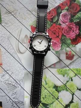 【訳アリ品に付き送料込】 ファッション時計 BK&W