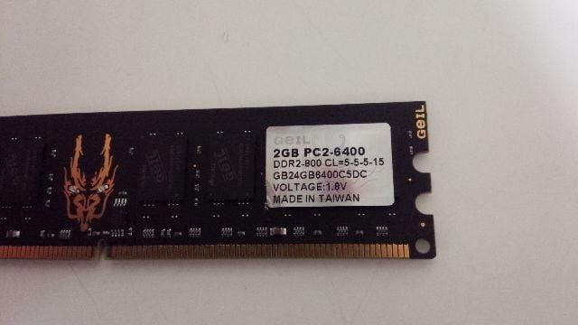 GEIL2GB--PC2-6400 < PC本体/周辺機器の