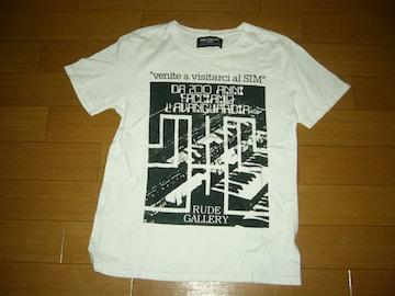 RUDE GALLERYルードギャラリーTシャツ3白カットソー