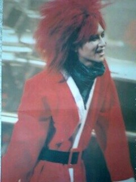 X JAPAN hide ポスター DAHLIA TOUR ヒデ サンタクロース
