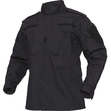 訓練 ジャケット 無地 作業服   装備品 ユニセックス 黒 M