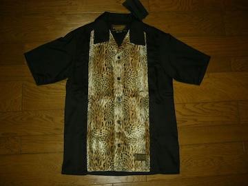 新品NEIGHBORHOODネイバーフッドヒョウファーシャツ黒S豹ハラコ
