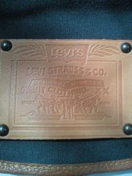 Levi's リーバイス レトロ 帆布 風 リュックサック グリーン 鞄 バッグ BAG かばん