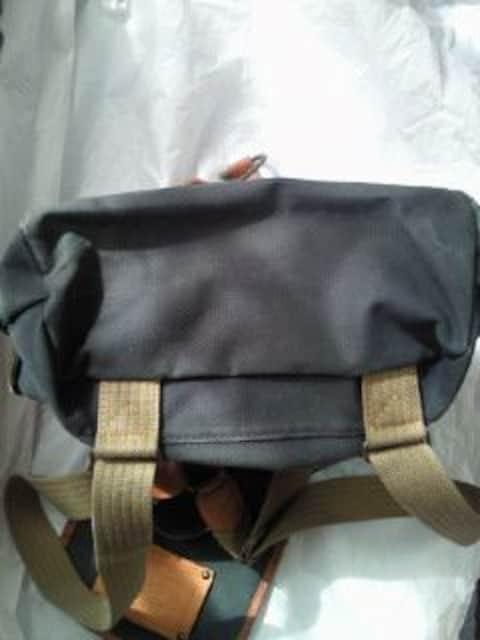Levi's リーバイス レトロ 帆布 風 リュックサック グリーン 鞄 バッグ BAG かばん < ブランドの