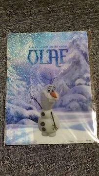 アナと雪の女王/オラフ新品B5サイズ下敷き/定価200円の品