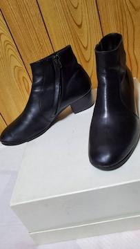 正規 ディオールオム 4.5 タンゴヒールブーツ黒 40 25~25.5cm 7H エディ期 ドレス