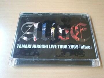玉木宏DVD「TAMAKI HIROSHI LIVE TOUR 2009 『alive』」●