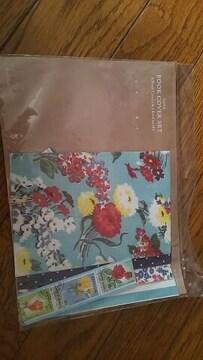新品☆花柄★キュート★bookカバーset
