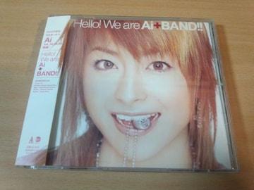 Ai+BAND CD「Hello! We are Ai+BAND!!」パーソンズ/リンドバーグ