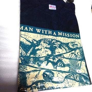 MAN WITH A MISSION◆Tシャツ◆新品未開封◆L◆ブラック◆ツア