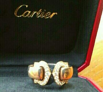 新品 カルティエ リング 指輪 ピンクゴールド ダイヤモンド  18K