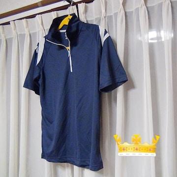 DRYのポロシャツ(L)紺!