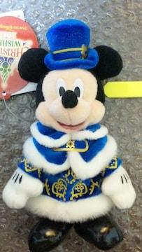 ディズニーシー TDS カラー・オブ・クリスマス 2012 ぬいば ミッキー ぬいぐるみバッジ