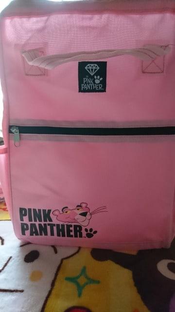 新品 ピンクパンサー リュック ガバッと開きます < アニメ/コミック/キャラクターの