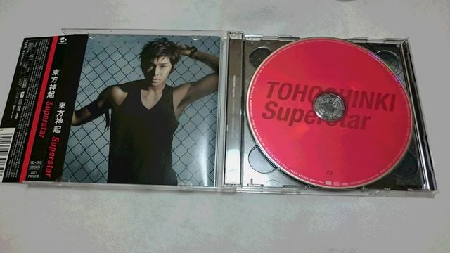 *☆東方神起★Superstar(CD+DVD)♪ < タレントグッズの