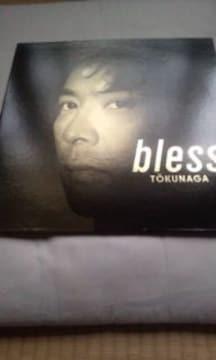 "LPレコード徳永英明 2枚組み""bIess"""