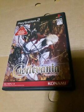 PS2☆キャッスルヴァニア☆状態良い♪ドラキュラシリーズ。