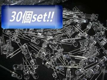 同梱可!砲弾型Ф5mmLEDピンク色30個/自作電球