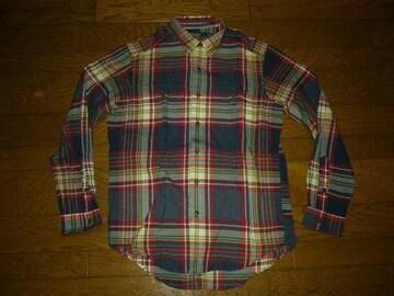 新品POLObyRalphLaurenポロラルフローレンチェックシャツM